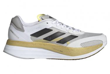 Zapatillas adidas running adizero Boston 10 para Hombre Blanco / Oro