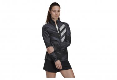Veste Coupe-Vent Femme adidas Terrex Parley Agravic Gris / Noir