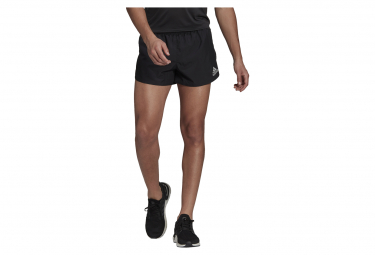 Short Splité adidas Fast Split Noir