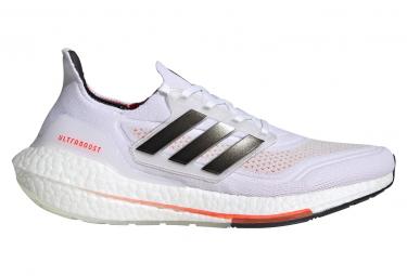 Adidas UltraBoost 21 Laufschuhe Weiß Rot