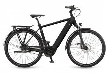 Bicicleta eléctrica de ciudad Winora Sinus R8f Gents Shimano Nexus 8 V, 625 Wh, 650b, negro, 2021