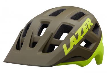 Casco Lazer Coyotte + MIPS Verde / Giallo