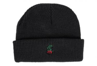 Bonnet Subrosa Rose Embroderie Noir