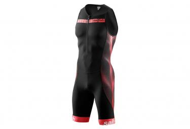 Sailfish Trisuit Comp Trisuit Anzug Schwarz Rot