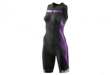 Sailfish Womens Trisuit Comp Womens Trisuit Suit Black Purple