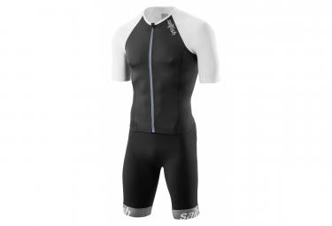 Sailfish Aerosuit Comp Trisuit Anzug Schwarz Weiß