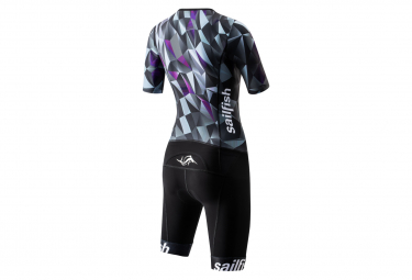 Sailfish Aerosuit Comp Women's Tri-Suit Black Purple