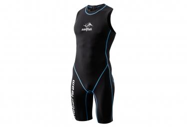 Sailfish Mens Swimskin Rebel Team 3 Non-neoprene Wetsuit Black Blue