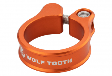 Collier de Selle Wolf Tooth Seatpost Clamp Orange