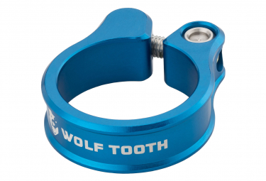 Collier de Selle Wolf Tooth Seatpost Clamp Bleu