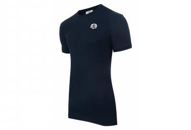 T-Shirt Manches Courtes LeBram Ecusson Bleu Foncé