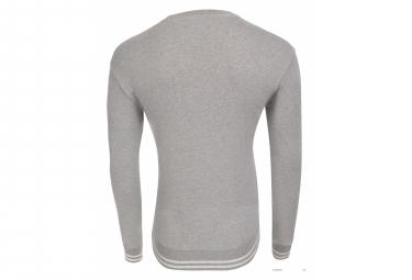 Sweatshirt LeBram Ecusson Gris