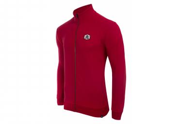 Sweatshirt LeBram Ecusson Zippé Winery / Rouge
