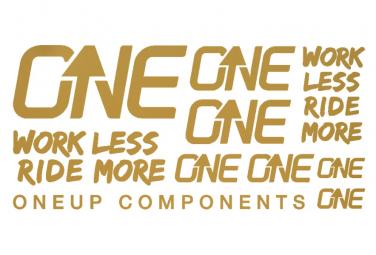 Oneup Gold Kashima Stickers Kit