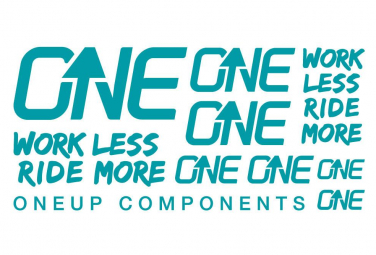 OneUp Decal Kit Turquoise