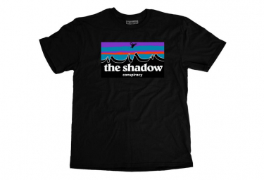 T-Shirt Manches Courtes The Shadow Conspiracy Out There Noir