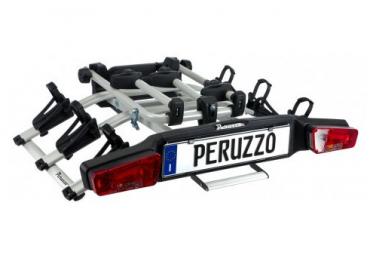 Porte-Vélo sur Boule d'Attelage Peruzzo E-Bike Zephyr 3 Vélos