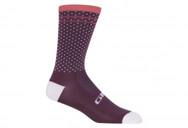 Calze Giro Comp a vita alta Urchin / Rosa Pink