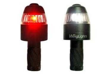 Par de luces de manillar Cycl Windlights 360 Imanes fijos