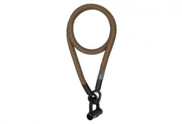 Tex-Lock Eyelet 120 cm U-Lock Black / Gold