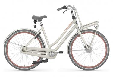 Bicicleta Ciudad Mujer Gazelle Miss Grace L T7 Blanc