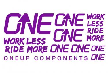 Oneup Purple Stickers Kit