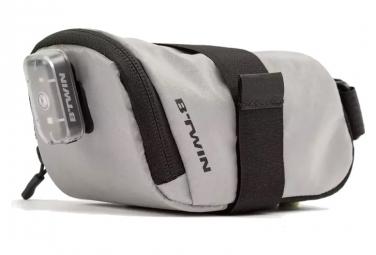 BTwin 500 Reflective Saddle Bag Black