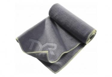 Serviette de Sport Tyr Microfibre Hyper-Dry Gris