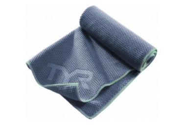 Serviette de Sport Tyr Microfibre Hyper-Dry Bleu
