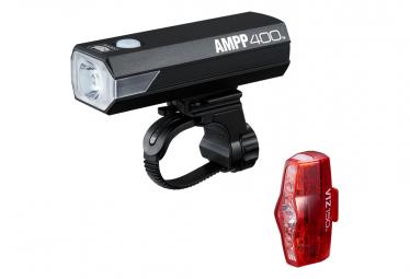 Paar Cateye AMPP400 & ViZ150 Schwarzlichter