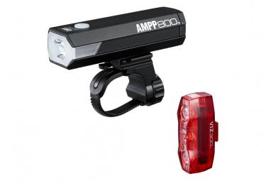 Paar Cateye AMPP800 & ViZ300 Schwarzlichter