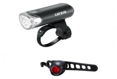 Paire d'Éclairage Cateye HL-EL135 et ORB Noir