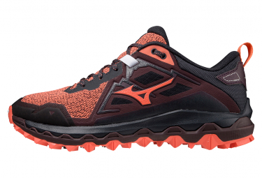 Chaussures de Trail Femme Mizuno Wave Mujin 8 Rouge / Gris