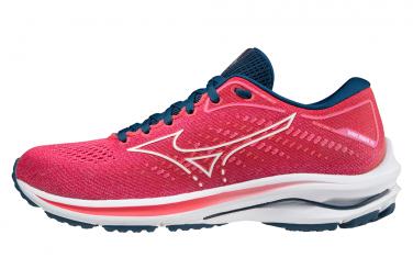 Chaussures de Running Femme Mizuno Wave Rider 25 Rose