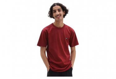 T-Shirt Manches Courtes Vans Off The Wall Classic Rouge