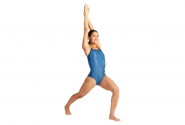 Women's Arena Kikko Back Light Drop One-Piece Swimsuit Blue