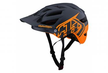 Troy Lee Designs A1 Mips Classic Tangelo / Blue Orange Helmet