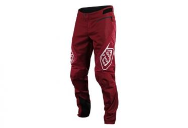 Troy Lee Designs Sprint Pantalones Burdeos