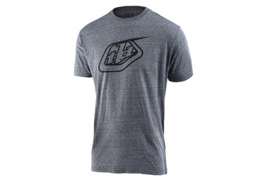 Troy Lee Designs Logo Tee T-shirt vintage a maniche corte grigia