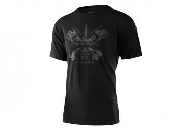 Troy Lee Designs T-shirt manica corta Pistonbone nera