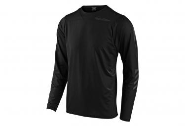 T-Shirt Manches Longues Troy Lee Designs Pistonbone Noir