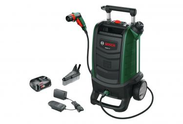 Nettoyeur Haute Pression Bosch Fontus 2 sans fils (Batterie 18V) 20bars