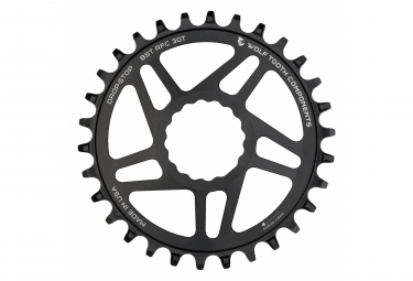 Wolf Tooth Direct Mount Chainring for Race Face Cinch Boost 3 mm Drop-Stop A Black