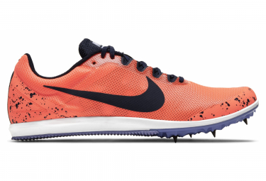 Chaussures d'Athlétisme Nike Rival D 10 Orange / Violet