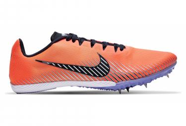 Chaussures d'Athlétisme Nike Rival M 9 Orange / Violet