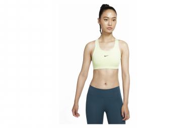 Sujetador deportivo Nike Air Swoosh para mujer, amarillo