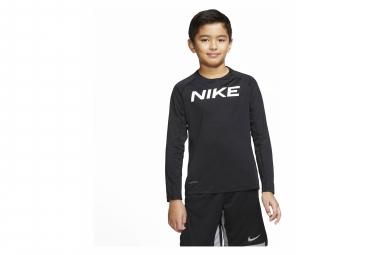 Maillot Manches Longues Enfant Nike Pro Noir