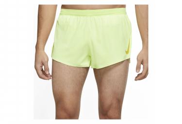 Short Nike AeroSwift Jaune