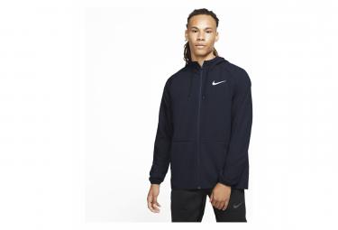 Veste à Capuche Zip Nike Flex Training Bleu