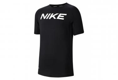 Maillot Manches Courtes Enfant Nike Pro Noir